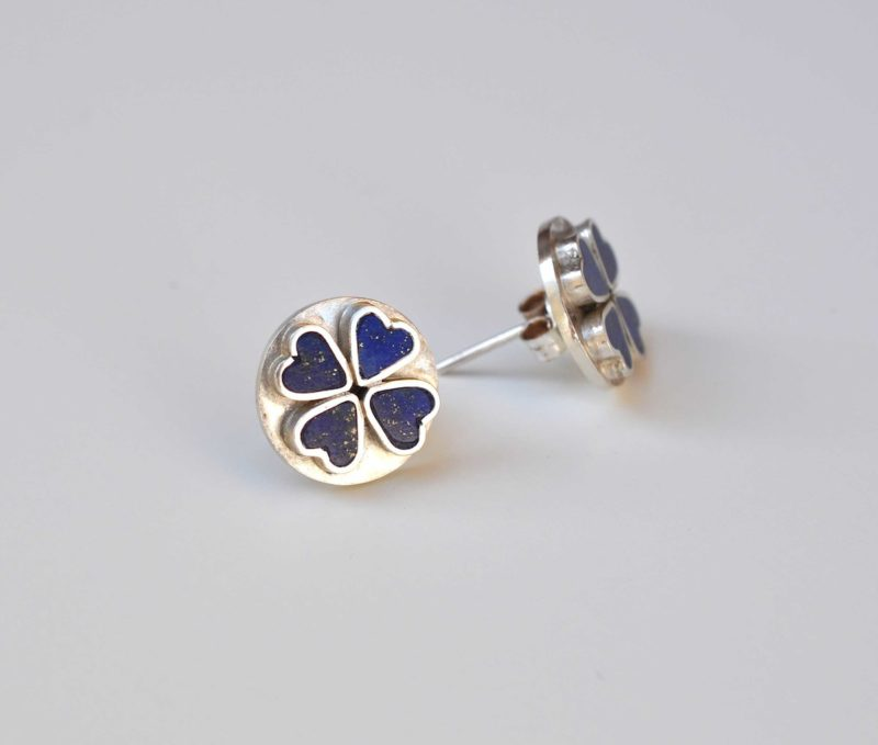 the products lapis lazuli artisan earrings tribe studs antique afinal silver stud afina