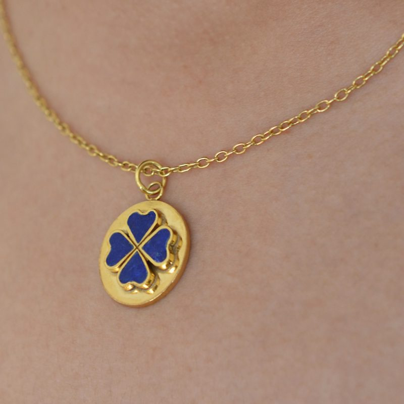 with consignment bead gold design and p necklace lapis llc